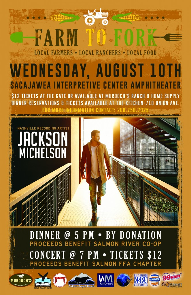 Farm to Fork and Live Music @ Sacajawea Interpretive Center