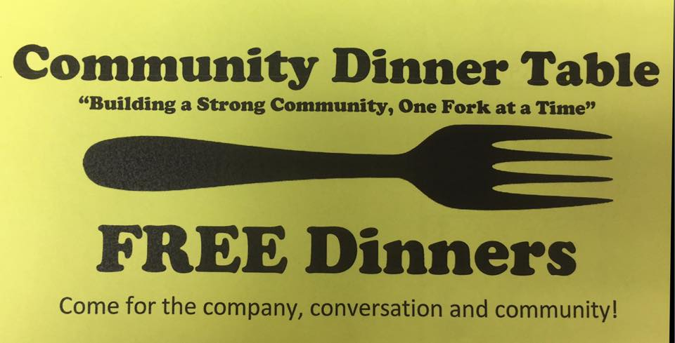Free Community Dinner @ Elks Hall