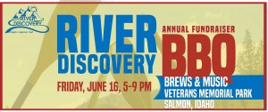 River Discovery - BBQ Annual Fundraiser @ Veteran's Memorial Park