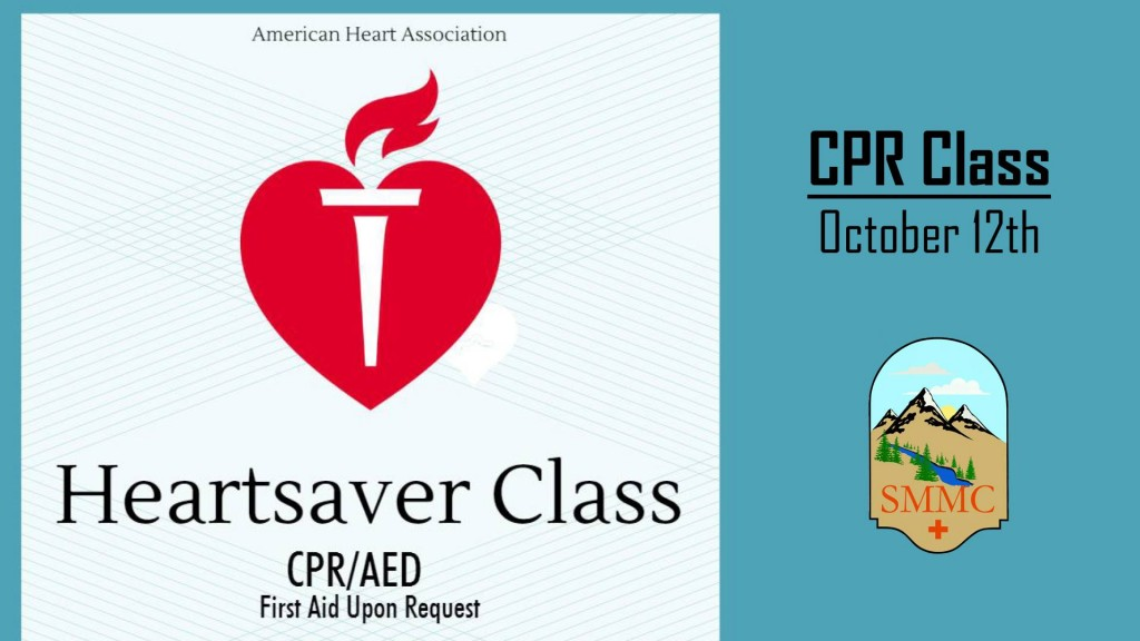 CPR/AED Class @ Steele Memorial Medical Center