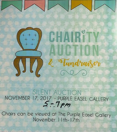 Salmon Arts Council's Chair-ity Auction @ Purple Easel Gallery