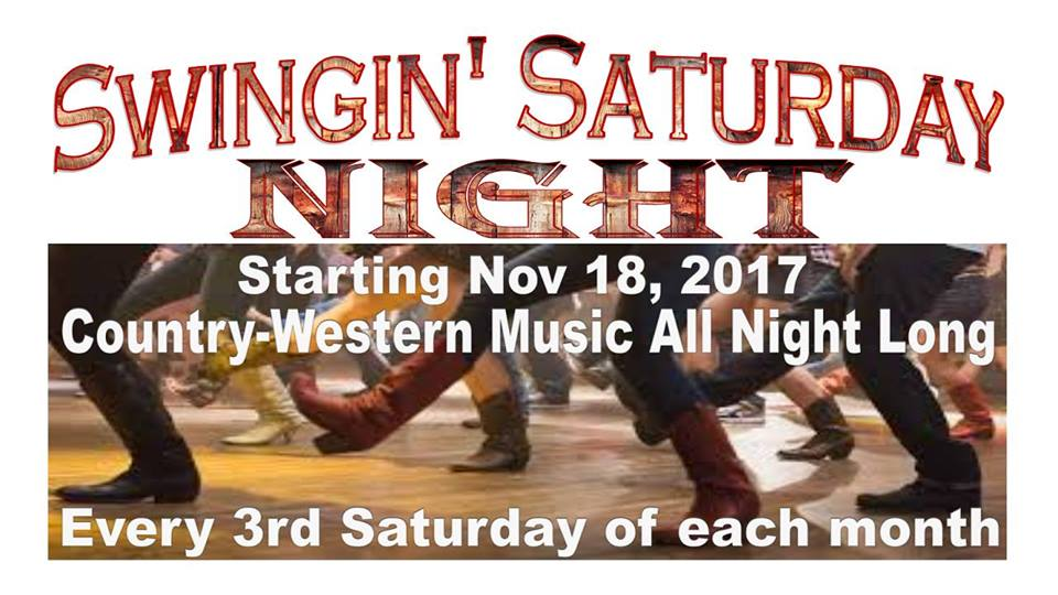 Swingin' Saturday Night @ Whiskey Willies